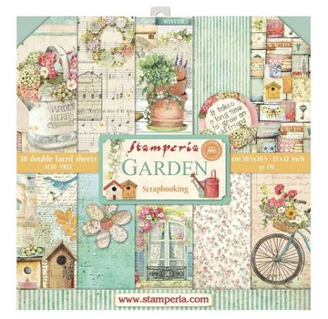 Stamperia Card and scrapbook paper block, Stamperia
