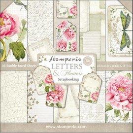 Stamperia und Florella Card and scrapbook paper block, Stamperia