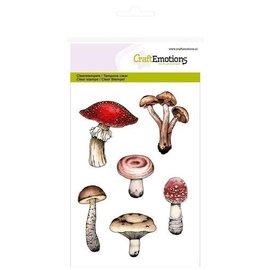 Craftemotions Stempelmotiv, svampe