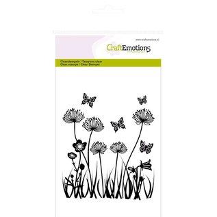 Craftemotions Stempelmotief, veldbloemen