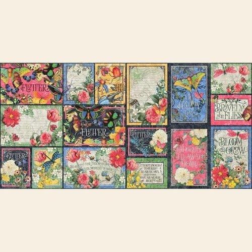 GRAPHIC 45 Bloc de papier de cartes