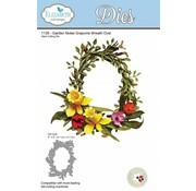 Elisabeth Craft Dies , By Lene, Lawn Fawn cutting dies, wreath oval