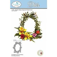 cutting dies, wreath oval