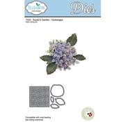 Elisabeth Craft Dies , By Lene, Lawn Fawn Cutting dies af Elizabeth Crafts, Hydrangea