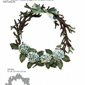 Elisabeth Craft Dies , By Lene, Lawn Fawn Plantillas de corte, corona