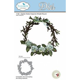 Elisabeth Craft Dies , By Lene, Lawn Fawn cutting dies, wreath