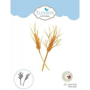 Elisabeth Craft Dies , By Lene, Lawn Fawn Matrices de découpe, Notes de jardin - gaine de blé