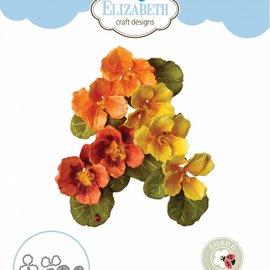 Elisabeth Craft Dies , By Lene, Lawn Fawn Plantillas de corte, Notas de jardín - Capuchina