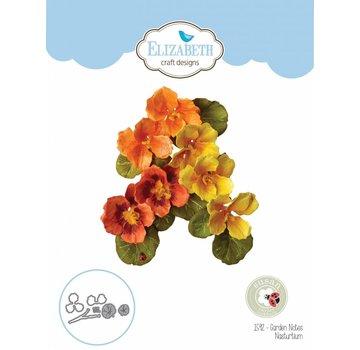 Elisabeth Craft Dies , By Lene, Lawn Fawn Taglio muore di Elizabeth Crafts, Note del giardino -nasturzio
