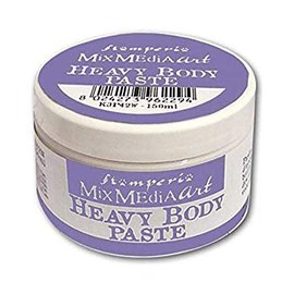 Stamperia Strukturpasta: Stamperia Heavy Body Paste 150ml White