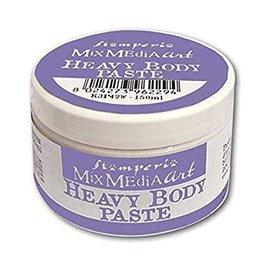 Stamperia und Florella Structuurpasta: Stamperia Heavy Body Pasta 150ml White
