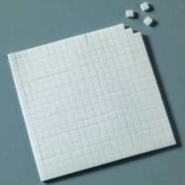 BASTELZUBEHÖR, WERKZEUG UND AUFBEWAHRUNG Adhesive puder, dobbeltsidet