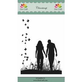 CREATIVE EXPRESSIONS und COUTURE CREATIONS Motivo stampato, Dixi Craft Love - Copy