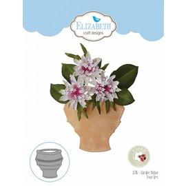 Elisabeth Craft Dies , By Lene, Lawn Fawn Kutting dør blomsterpotter