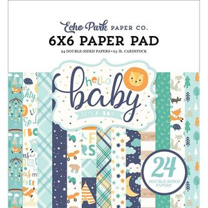 Carta Bella / Echo Park / Classica Card and Scrapbook Paper Block, Echo Park, Hello Baby Boy Collection