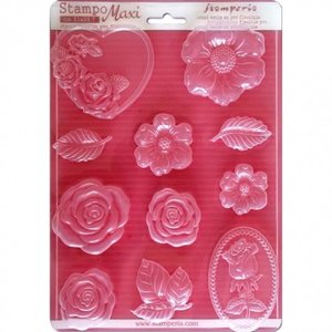 GIESSFORM / MOLDS ACCESOIRES Stamperia Soft Maxi-mal