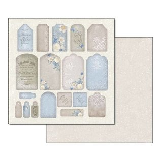 Stamperia und Florella Cards and scrapbook paper block, 30.5 x 30.5cm