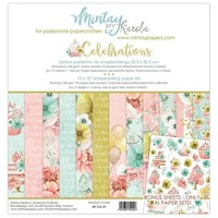 Card and scrapbook paper block, 30.5 x 30.5 cm
