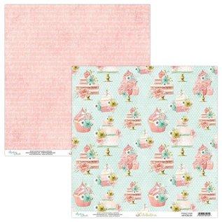 Designer Papier Scrapbooking: 30,5 x 30,5 cm Papier Card and scrapbook paper block, 30.5 x 30.5 cm