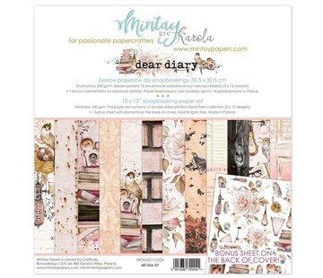 Designer Papier Scrapbooking: 30,5 x 30,5 cm Papier Karten- und Scrapbook Papierblock, 30,5 x 30,5 cm