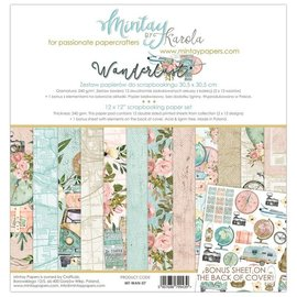 Designer Papier Scrapbooking: 30,5 x 30,5 cm Papier Mintay, card and scrapbook paper block, 30.5 x 30.5 cm. , In addition, this set contains a bonus sheet with great cutting elements.