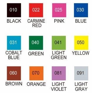 FARBE / MEDIA FLUID / MIXED MEDIA ZIG Set van echte pennen in 12 kleuren - ALLEEN 1 op voorraad! (met video-inspiratie met deze pennen)