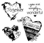 Stamperia Stamperia natural stamp heart