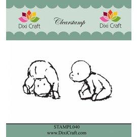 Stamp motif, babies