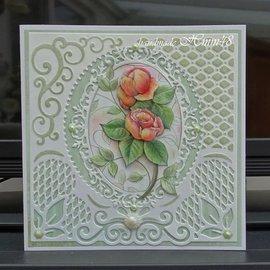 JEANINES ART (NEU) 3D Vorgestanzte A4 Bogen