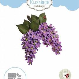 Elisabeth Craft Dies , By Lene, Lawn Fawn Snijmallen, Garden Notes - Lila Bloem