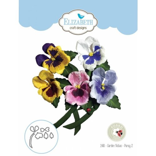 Elisabeth Craft Dies , By Lene, Lawn Fawn cutting dies, Garden Notes