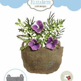 Elisabeth Craft Dies , By Lene, Lawn Fawn Plantillas de corte, Cesta de recolección