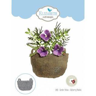 Elisabeth Craft Dies , By Lene, Lawn Fawn Stansemaler, Gathering Basket
