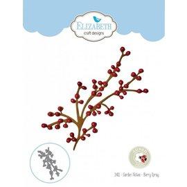 Elisabeth Craft Dies , By Lene, Lawn Fawn Stanzschablonen, 3D Zweig mit Berry Branch