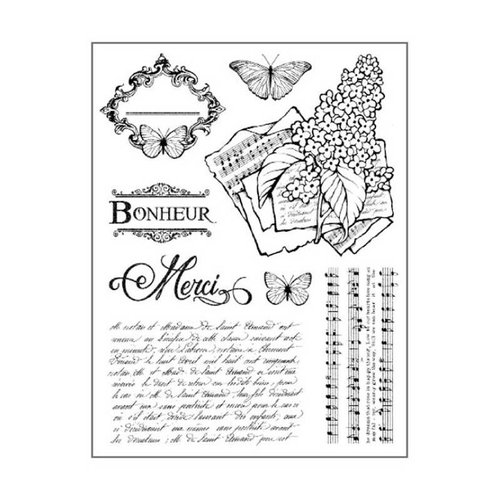 Stamperia Stamperia stamp motif