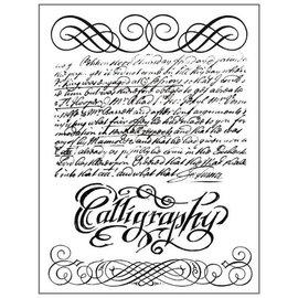 Stamperia und Florella Motif de timbre Stamperia