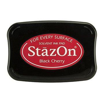 FARBE / STEMPELKISSEN Inchiostro di StaZon: Black Cherry (l'inchiostro Stazon è resistente ai colori e all'acqua)