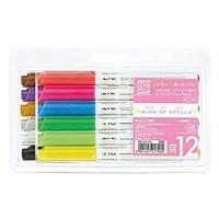 ZIG'S WINK OF STELLA - gel blyant med bløde farvede effekter i 12 farver