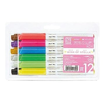 FARBE / MEDIA FLUID / MIXED MEDIA ZIG'S WINK OF STELLA - gel blyant med bløde farvede effekter i 12 farver