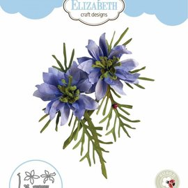 Elisabeth Craft Dies , By Lene, Lawn Fawn Matrices de découpe, Notes de jardin