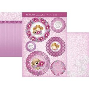"Hunkydory Luxus Sets Hunkydory, luxury card set ""Flower for me"""