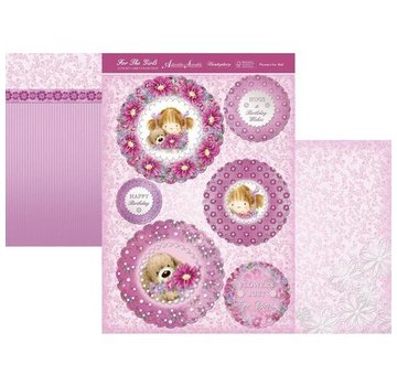 """Hunkydory Luxus Sets Hunkydory, luxe kaartenset """"Flower for me"""""""