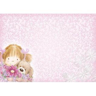"Hunkydory Luxus Sets Hunkydory, Luxus  Kartenset ""Flower for me"""