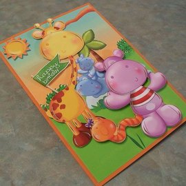 "Hunkydory Luxus Sets Hunkydory, lujoso juego de cartas ""jungle japes"""