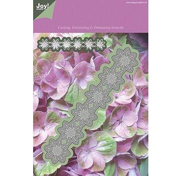 Joy!Crafts / Jeanine´s Art, Hobby Solutions Dies /  Stanzschablonen, Blumen Bordüre - nur noch wenige vorrätig