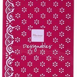 Marianne Design Carpeta de gofrado, flores