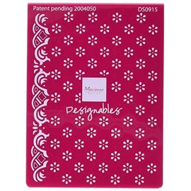 Marianne Design Embossing folder, flowers