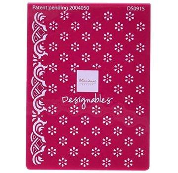 Marianne Design Embossing folder, flowers