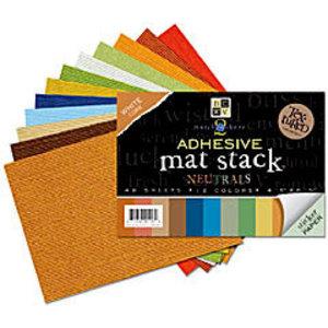 Karten und Scrapbooking Papier, Papier blöcke Bloc de papier cartonné Structure Mat, 11 x 16 cm