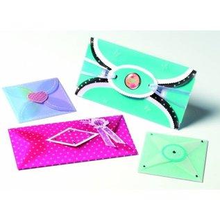 Schablonen, für verschiedene Techniken / Templates Art template for various envelopes